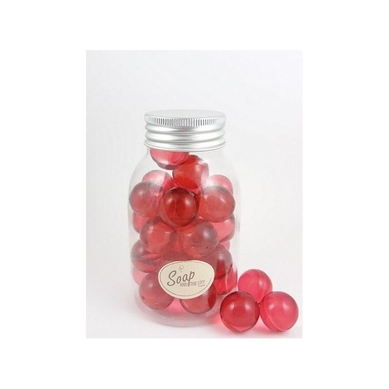 Perles de bain en flacon de 30, Passion