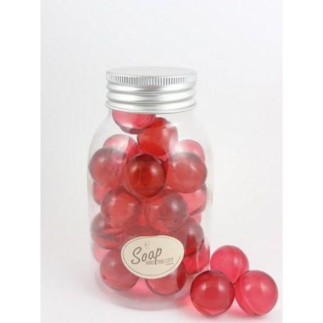 Perles de bain en flacon de 30, Passion de La Boutique a Paris