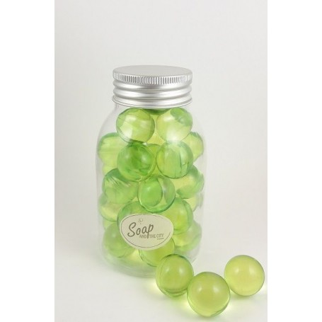 Perles de bain en flacon de 30, Pomme de La Boutique a Paris