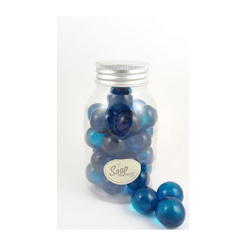 Perles de bain en flacon de 30, Menthe