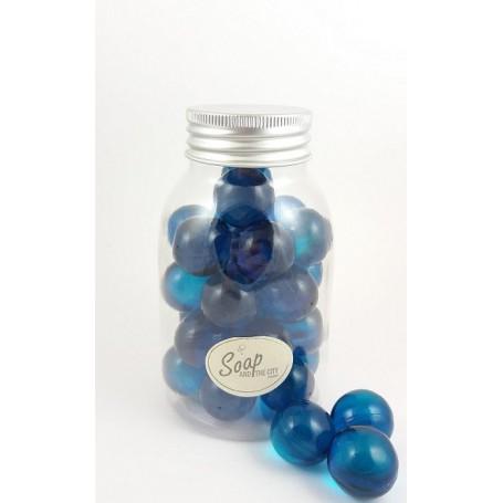 Pearls and bath bombs Perles de bain en flacon de 30, Menthe made by Bomb Cosmetics