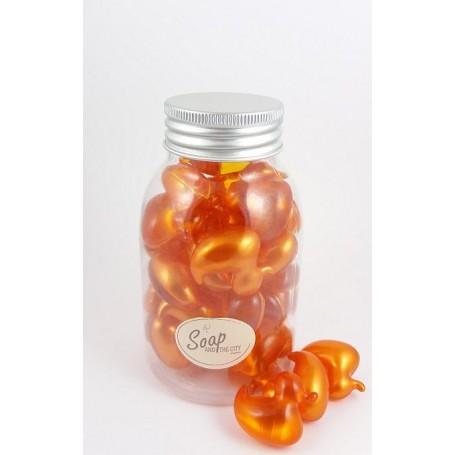 Perles de bain en flacon de 30, Vanille La Boutique a Paris