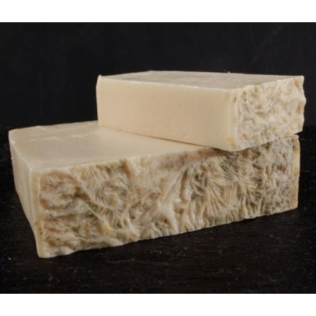Handcut soaps Camomile and goat milk, cut soap made by Autour du Bain