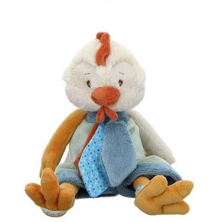 Peluche poule, Sweet Chicky blue Bukowski a Paris