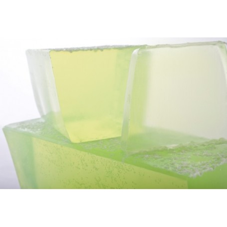 Lily-of-the-Valley, cut soap translucent
