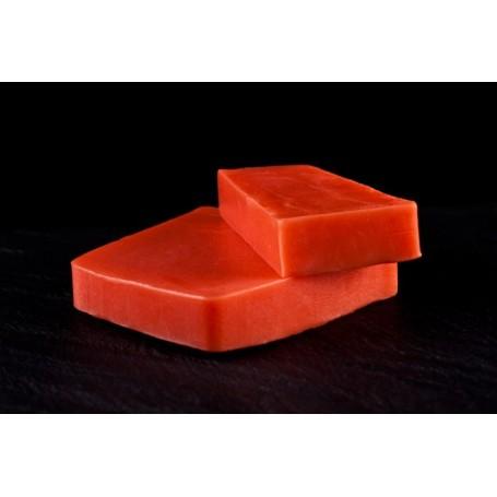 Foglia di pomodoro, sapone al taglio