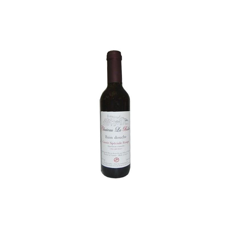 Gel Douche Bouteille de Vin, Fruits Rouges