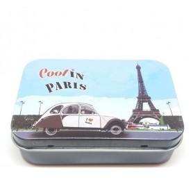ACCESSOIRES Boîte métal, Paris 2CV de