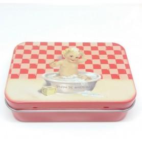 ACCESSOIRES Boîte métal, Bébé rouge de