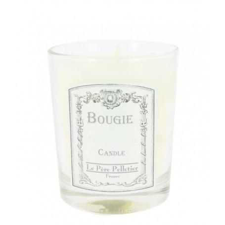 Ambre, Bougie parfumée 35h Le Père Pelletier à Paris chez Soap and the City, savons, bougies, parfums, encens et peluches