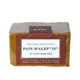 Savon d'Alep Pain d'Alep 35% Laurier made by Tadé