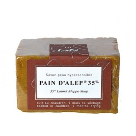Pain d'Alep, 200gr 35% Laurier Tadé à Paris chez Soap and the City, savons, bougies, parfums, encens et peluches