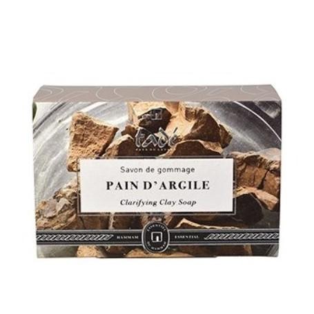 Pain d'argile, savon de gommage, 150gr Tadé à Paris chez Soap and the City, savons, bougies, parfums, encens et peluches