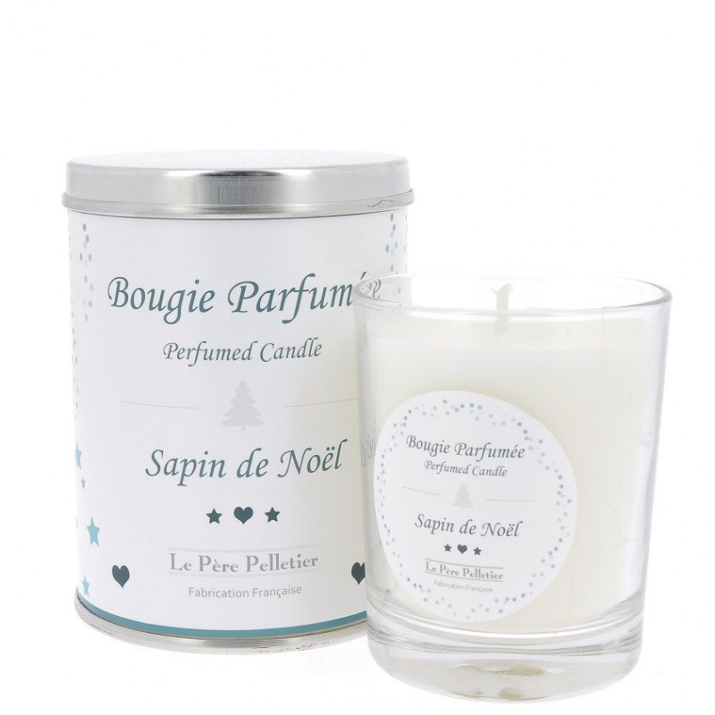 Bougie parfumée 35h, Sapin de Noel