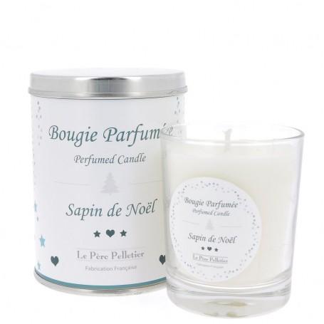 Bougies parfumées Bougie parfumée 35h, Sapin de Noel made by Le Père Pelletier