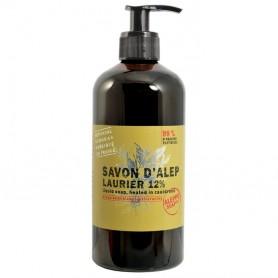 Handzepen en gels Savon d'Alep liquide 12% Laurier, 500ml made by Tadé