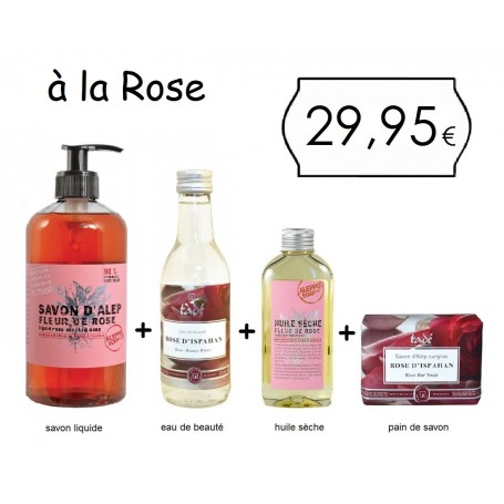 Le pack Tadé, à la Rose Tadé a Paris
