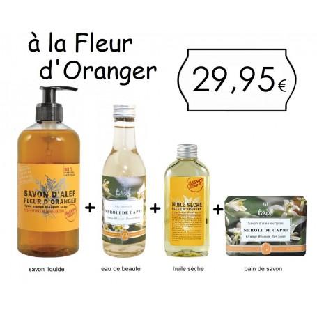 Le pack Tadé, à la Fleur d'Oranger Tadé a Paris