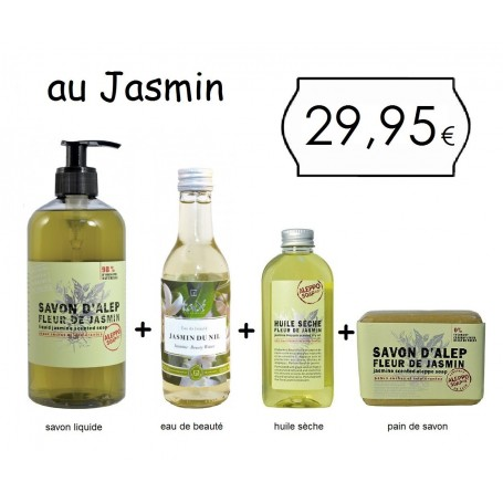 Le pack Tadé, au Jasmin Tadé à Paris chez Soap and the City, savons, bougies, parfums, encens et peluches