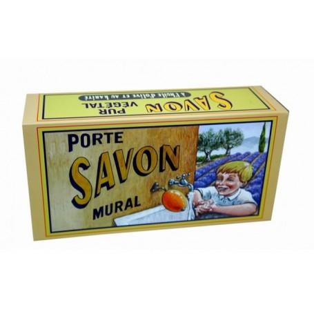 Savon divers Savon rotatif support laiton made by La Savonnerie de Nyons