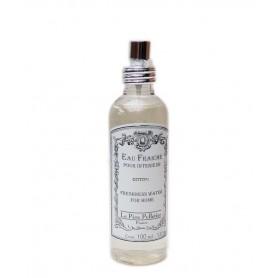 Vaporisateurs parfums Eau Fraîche, Coton, parfum d'ambiance pour maison intérieur, 100ml de Le Père Pelletier