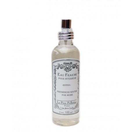 Parfum d'intérieur, Coton, 100ml Le Père Pelletier à Paris chez Soap and the City, savons, bougies, parfums, encens et peluches