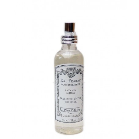 Vaporisateurs parfums Eau Fraîche, Lavande Ambrée, parfum d'ambiance pour maison intérieur, 100ml made by Le Père Pelletier