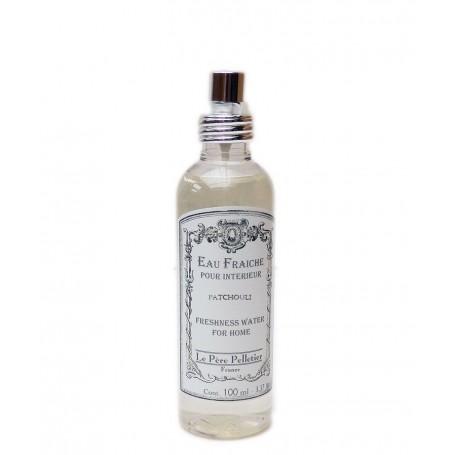Vaporisateurs parfums Eau Fraîche, Patchouli, parfum d'ambiance pour maison intérieur, 100ml made by Le Père Pelletier