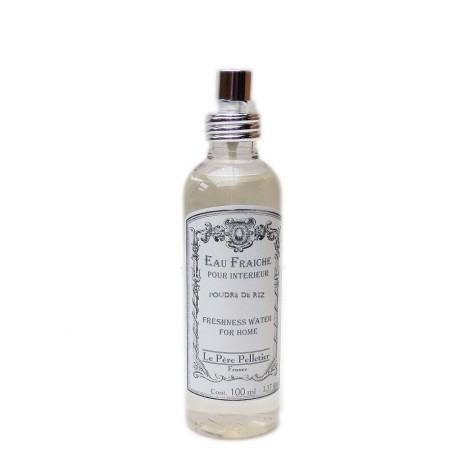 Parfum d'intérieur, Poudre de Riz, 100ml Le Père Pelletier à Paris chez Soap and the City, savons, bougies, parfums, encens e...