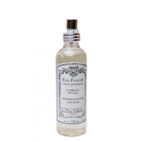 Vaporisateurs parfums Eau Fraîche, Tubereuse Royale, parfum d'ambiance pour maison intérieur, 100ml made by Le Père Pelletier