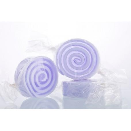 Candy savon, Violette de Autour du Bain a Paris