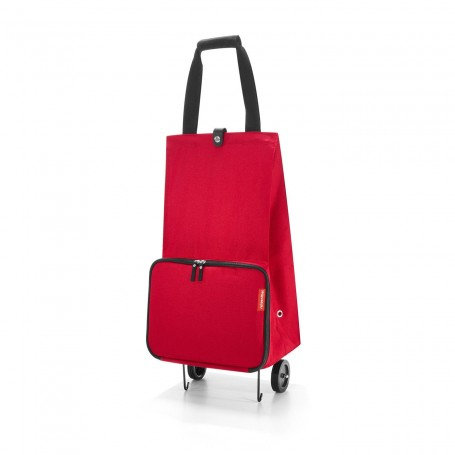 TOILET TASSEN Foldable trolley, red made by