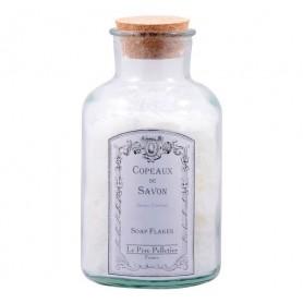 Home Copeaux de savon en bocal, Lavande Ambrée made by Le Père Pelletier