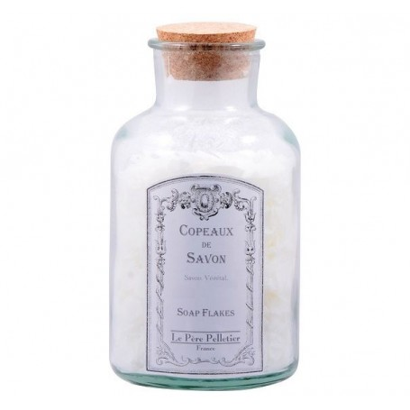 Copeaux de savon en bocal, Lavande Ambrée de Le Père Pelletier a Paris