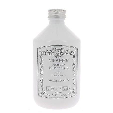 Vinaigre parfumé 500ml, Rose Ancienne Le Père Pelletier à Paris chez Soap and the City, savons, bougies, parfums, encens et p...