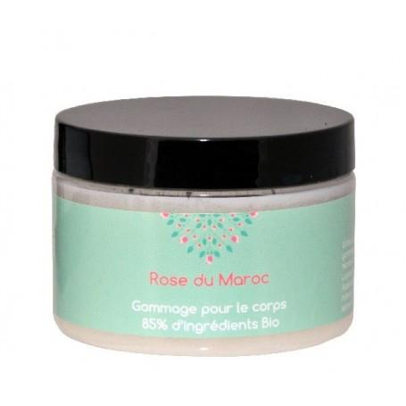 Huidverzorgende creme Gommage, Rose du Maroc made by Autour du Bain
