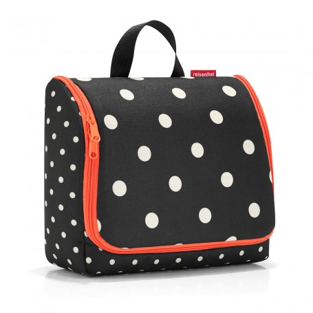 Trousse de toilette XL à suspendre, Mixed Dots