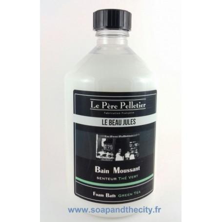Bain moussant, Thé Vert - Le Beau Jules Le Père Pelletier à Paris chez Soap and the City, savons, bougies, parfums, encens et...