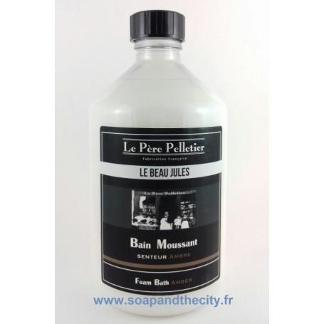 Bain moussant, Ambre - Le Beau Jules Le Père Pelletier à Paris chez Soap and the City, savons, bougies, parfums, encens et pe...