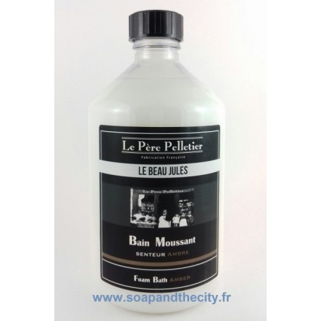 Mousse de bain, Ambre - Le Beau Jules from Le Père Pelletier in Paris