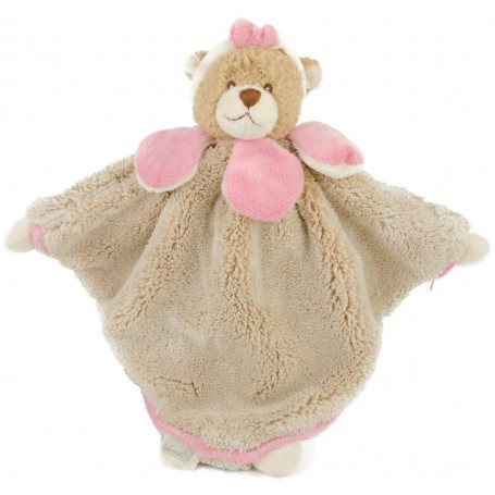 Peluche Doudou Viggo taupe et rose from Bukowski in Paris @ Soap and the City, soaps, candles, incens, perfumes and teddies