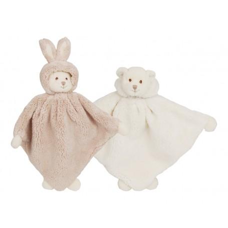 Peluche Doudou Ziggy baby rug blanc