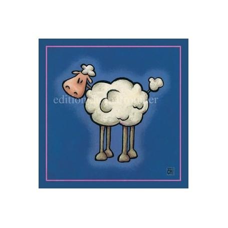 Carte postale, Mouton La Boutique a Paris