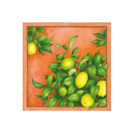 Carte postale, Citrons
