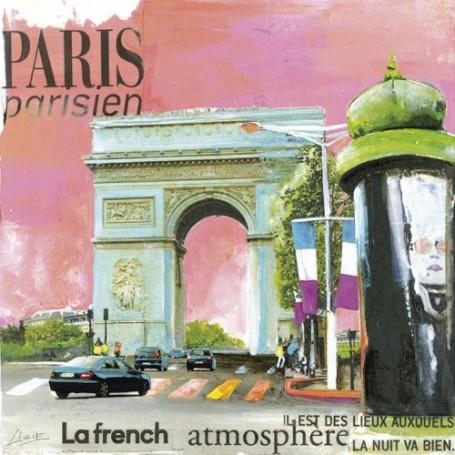 Carte postale, Arc de Triomphe van La Boutique in Parijs