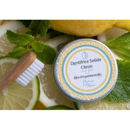 Dentifrice solide, citron jaune, 30ml