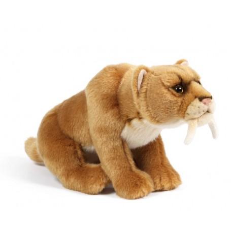 Peluche Tigre à dents de sabre