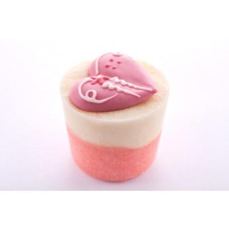 Cupcakes pour le bain Fondant de bain, Pomme d'Amour de Autour du Bain