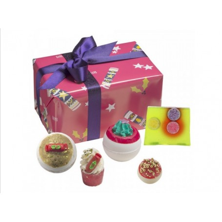 Coffret cadeau Crackers de Noel