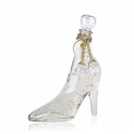 Gel Douche - Bain moussant en chaussure, Vanille transparante Tentation à Paris chez Soap and the City, savons, bougies, parf...